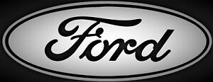Ford Oval Emblem Vinyl Decal Sticker For Truck Racing 4x4 Gt Mustang F150 F250