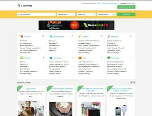 Classifieds Ads Website Free Installation Hosting