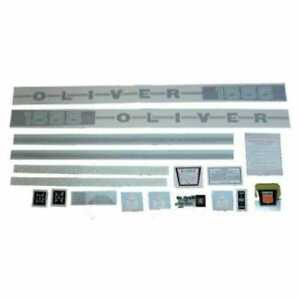 All Machinery Parts Oliver Decal Set 1555 Vinyl 102918 eas