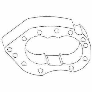 All Machinery Parts Hydraulic Pump Center Plate New Oliver K2043b 111352 eas
