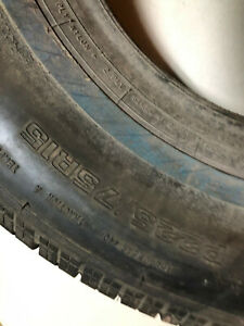 1 P225 75r15 Cooper Trendsetter Se White Wall Tire New Other
