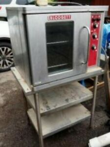 Blodgett Ctb Single Half single Electric Convection Oven 208 Voltage Used