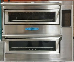 Turbochef Double Batch Hhd Countertop Ventless High Speed Oven Pizza subs wings