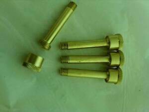 4 Extension Type Model Gas Engine Brass Grease Cups 5 16 Caps 8 36 Thread
