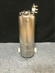 Alloy Products Corp 50 Liter Stainless Steel Pressure Vessel
