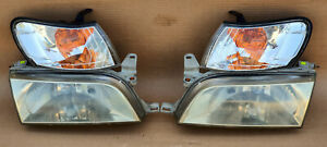 Toyota Corolla Ae100 Ae101 Crystal Headlights With Parking Lights Oem Jdm Used
