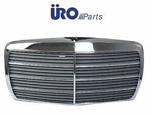 For Mercedes W123 230 280e 280ce Grille Assembly Screen frame Brand Uro Parts