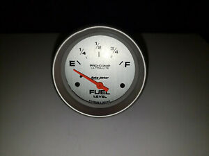 Autometer 4416 Pro Comp Ultra Lite Fuel Gauge