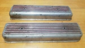Oldsmobile 303 324 Valve Covers Scta Hot Rod Trog Gasser Vintage Fenton