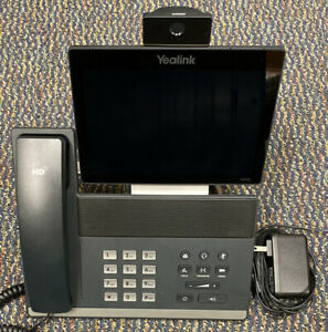Yealink Sip Vp t49g Ultra elegant Gigabit Ip Video Phone W Stand Power Supply