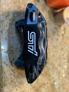 2015 2019 Subaru Wrx Sti Brembo Brake Caliper Pair Front Calipers 15 19