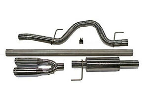Rousch Performance Exhaust Kit Ford F150 3 5l 5 0l 6 2l Raptor 421248