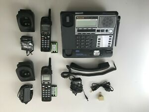 Panasonic Tg4500 4 Line Cordless Phone System With Two Handsets