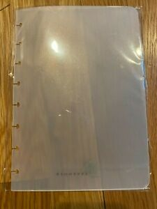 New 1 Set Levenger Circa Junior Sized Translucent Cover Sealed