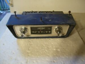 60 61 62 Chevy Corvair Factory Radio Good Working With Housing Corvair Truck
