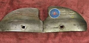 1941 Chevy Bumper Guards Wing Tips Oem Vtg