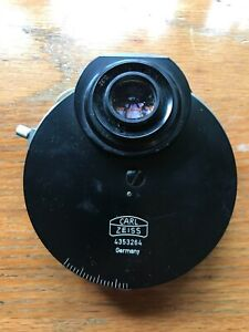 Carl Zeiss 4353264 Phase Contrast Microscope Condenser 0 32 Ph3 Ph2 J D