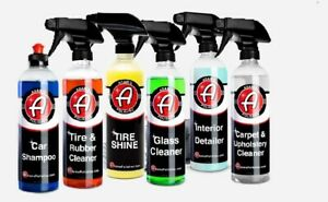 Adams Polishes Limited Sprays And Car Shampoo Bundle