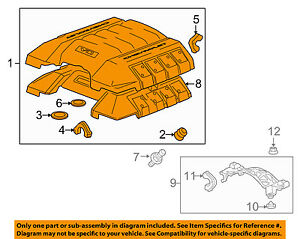 Chevrolet Gm Oem 10 15 Camaro 6 2l Engine Appearance Cover engine Cover 92246784