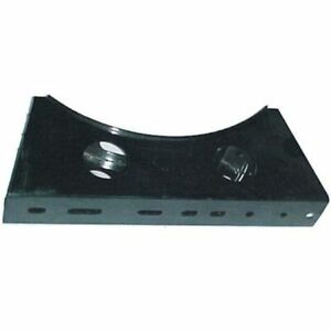 Black Steel Fuel Tank Mounting Bracket For Reefer Trailer With 19 Or 22 Inch Tan