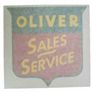 All Machinery Parts Oliver Decal Set Sales service 8 Vinyl 102953 eas