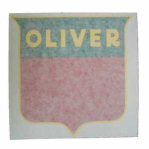 All Machinery Parts Oliver Decal Set Shield 8 Red Vinyl 102940 eas