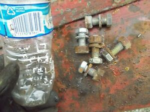 Allis Chalmers Wd Wd45 45 Tractor 5 Bolts Nuts To Hold Fender To Mt Bracket