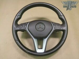 14 16 Mercedes W212 E Class Leather Steering Wheel Controls Paddles Srs Oem