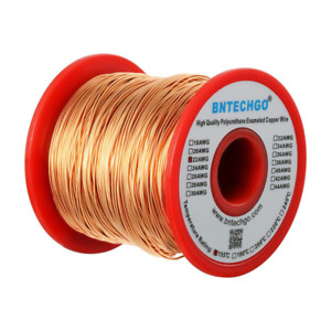 Bntechgo 22 Awg Magnet Wire Enameled Copper Wire Enameled Magnet Winding Wir