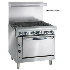 Imperial Ihr 6 c 36 In 6 burner Diamond Series Gas Range W Convection Oven