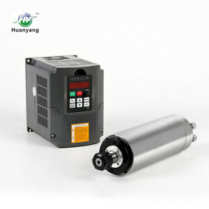 Hy Brand For Cnc Er20 2 2kw Water Cooled Spindle Motor vfd 2 2kw Drive Inverter