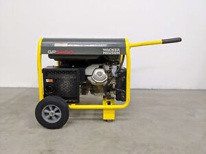 Hoc Wacker Neuson Generator Gp5600 90 Day Warranty Excellent Condition