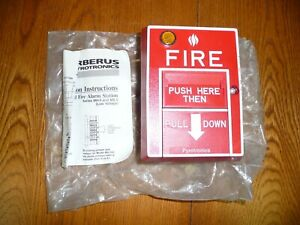 Siemens Pyrotronics Ms 512c Manual Fire Alarm Pull Station