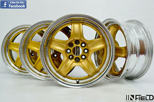 Jdm 15 Wedssport Rs 5 15x6 40 4x100 Rims Honda Civic Cr x Jazz Toyota ei052