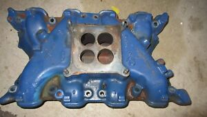Ford Mustang Cougar 351c Cast Iron 4v Intake Manifold Oem Cleveland