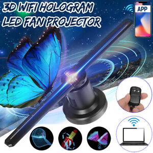 Us 224 Leds Wifi 3d Holographic Projector Hologram Led Advertising Display Fan