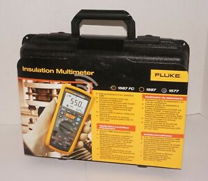 Fluke 1577 Insulation Tester Multimeter 600 Megaohm Resistance 500v 1000v New