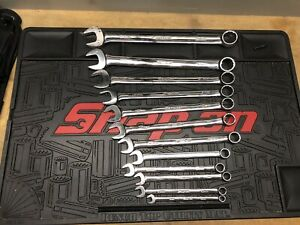 Snap On Flank Drive Oex Series Wrench Set 9 24mm 12pc Set