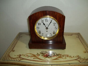 Fully And Properly Restored Seth Thomas Adamantine Mantel Clock Rex Model