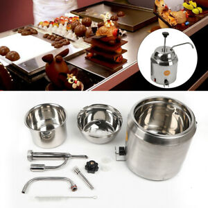 Hot Fudge Chocolate Nacho Cheese Dispenser Warmer With Pump 1 6l Can Us Stock