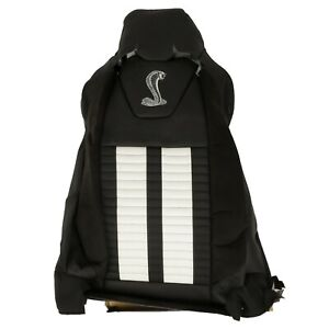 Genuine Ford 2013 2014 Mustang Seat Back Cover Driver Side Dr3z 6364417 cb