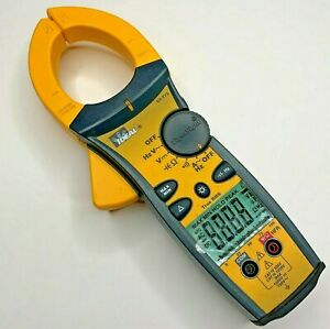 Ideal 61 773 Multimeter Ac Dc Voltage Ohm 1000a Clamp Meter