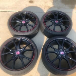 2017 2020 Honda Civic Type R 20 Fk8 Factory Oem Rims Tires Wheels Si Ex Ex I