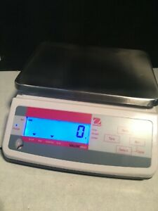 Ohaus V11p3 Digital Compact Bench Scale 6 6 Lb 3kg Capacity used