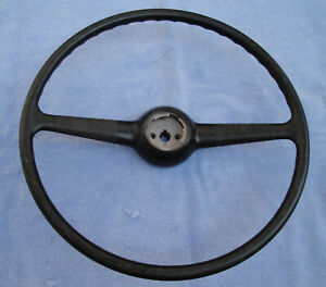 New 1940 Ford Steering Wheel Authentic Hard Rubber Original Style Detail