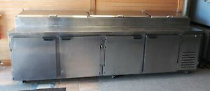 Beverage Air Dp119 Refrigerated Counter Pizza Prep Table