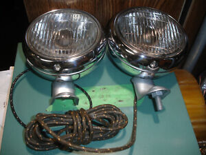 1949 1954 Chevrolet Pickup Truck Guide 2025 A Clear Fog Lights With Brackets