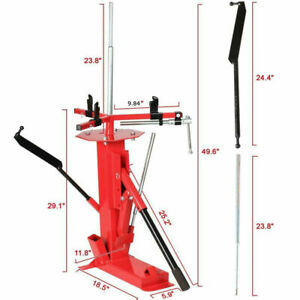 Car Motorcycle Heavy Duty Type Manual Tire Stripper Motorcycle Tire Changer Tool