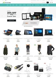 Ecommerce Website With Amazon Ebay Affiliate Dropshipping All in one