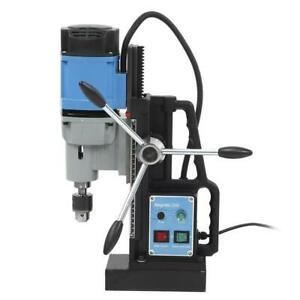 Industrial Electric Magnetic Drill 1800w 13900n For Drilling Tapping uk Plug220v